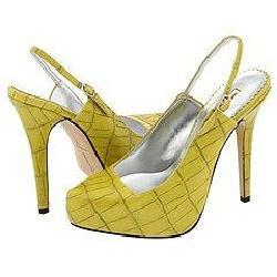 Report Vera Yellow from Overstock.com :  summer shoes stiletto platforms yellow