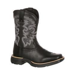 Children's Durango Boot DBT0145 8in Lil' Durango Western Boot Little Kid Black Leather 17718996