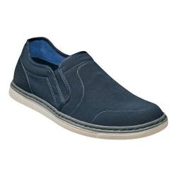 Men's Nunn Bush Archie Slip On Navy Synthetic