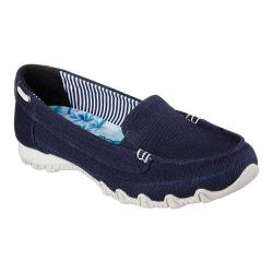 Women's Skechers Relaxed Fit Bikers Motoring Loafer Navy