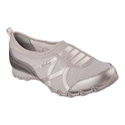 Women's Skechers Relaxed Fit Bikers Satin Dream Slip On Taupe