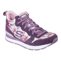 Girls' Skechers Retrospect Hollywood Rose High Top Purple/Pink