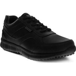 Men's Spring Step Ramon Lace Up Shoe Black Leather