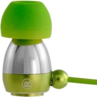 Gaiam Aluminum Ear Buds - Green
