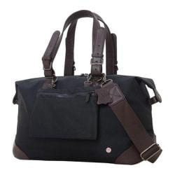Token Lafayette Waxed Duffel Bag (Medium) Black