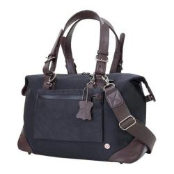 Token Lafayette Waxed Duffel Bag (Small) Black