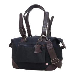 Token Lafayette Waxed Duffel Bag (XS) Black