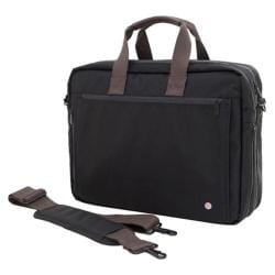 Token Lawrence Laptop Bag (Large) w/Back Zipper Black