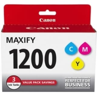 Canon PGI-1200CMY Ink Cartridge - Cyan, Magenta, Yellow