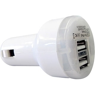 Comprehensive Dual USB Car Charger 2.1A/12 Watt