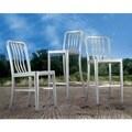 Gastro Bar Chair Brushed Aluminum