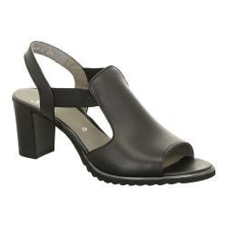 Women's ara Gillian 35649 Sandal Black Nappa