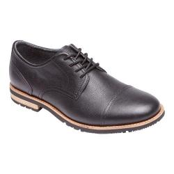 Men's Rockport Ledge Hill Too Cap Toe Oxford Black Leather