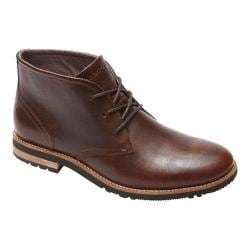 Men's Rockport Ledge Hill Too Chukka Boot Dark Brown Leather