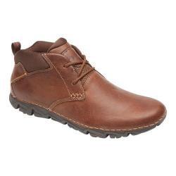 Men's Rockport RocSports Lite 2 Chukka Boot Tan Leather