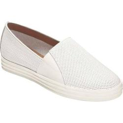 Women's Aerosoles Salt Water Slip-On White Perfed Leather 17987700