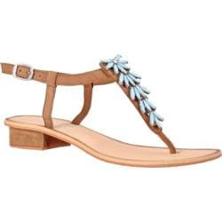 Women's Nomad Turquoise Bay Sandal Tan/Turquoise