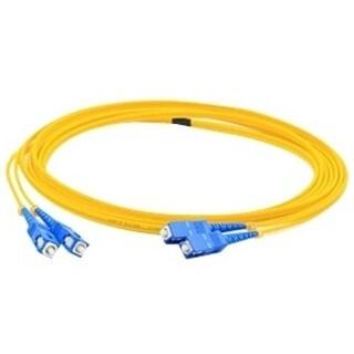 AddOn 25m Single-Mode Fiber (SMF) Duplex SC/SC OS1 Yellow Patch Cable