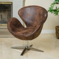 Christopher Knight Home Neptune Brown Modern Chair