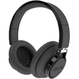 BOOM Rogue Over-Ear DJ Headphones with In-line Controls (Black)