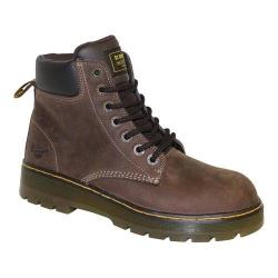 Men's Dr. Martens Winch Safety Toe Dark Brown Wyoming