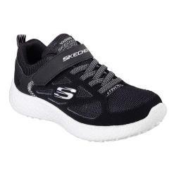 Boys' Skechers Burst Power Sprints Sneaker Black/White