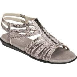 Women's Aerosoles Chlothesline Grey Snake Faux Leather