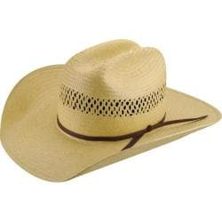 Bailey Western Sarge Straw Cowboy Hat Natural