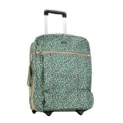 Hadaki by Kalencom Plane Hopping 18-inch Primavera Cheetah Carry On Upright Suitcase