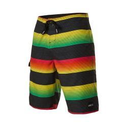 Men's O'Neill Santa Cruz Stripe Boardshort Rasta