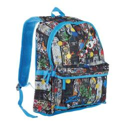 Men's Skechers Skater Boy Backpack Blue/Multi