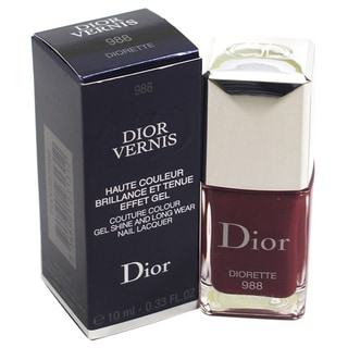 Dior Vernis Couture Colour Gel Shine and Long Wear Nail Lacquer # 988 Diorette
