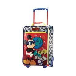 American Tourister Disney 18in Softside Upright Mickey Mouse