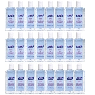 Purell 4-ounce Hygenic Hand Sanitizer Gel Personal Pump Bottles