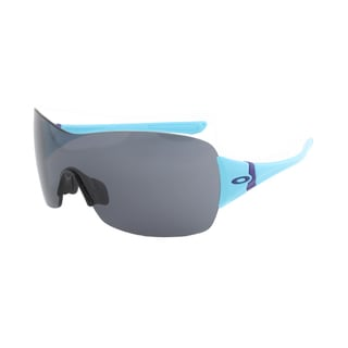 Oakley Miss Conduct Sunglasses OO9141-18, Aqua Frame, Grey Lens