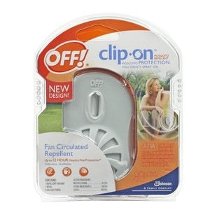 Off! Clip-On Mosquito Repellent and Off! Clip On Insect Repellant Refill, 2 Count