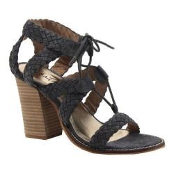 Women's Diba True Tradin Up Lace Up Sandal Ash Suede