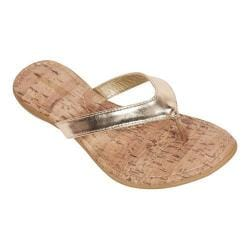 Women's Tidewater Sandals Cape Cod Thong Sandal Gold