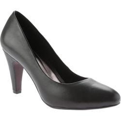 Women's Beacon Shoes Janice Pump Black Leather