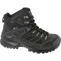 Men's Hi-Tec Mount Diablo I Waterproof Boot Dark Charcoal/Black/Grey Leather/Suede