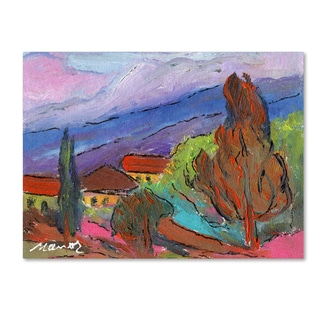 Manor Shadian 'Summer Blush' Canvas Art