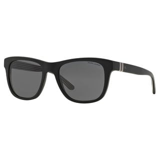 Polo Ralph Lauren Men's PH4090 Plastic Square Sunglasses