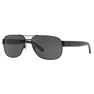 Polo Ralph Lauren Men's PH3089 Metal Square Sunglasses