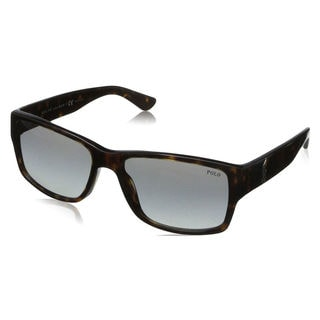 Polo Ralph Lauren Men's PH4061 Plastic Square Sunglasses