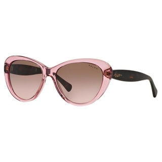 Ralph by Ralph Lauren Women's RA5189 Plastic Cat Eye Sunglasses