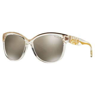 Ralph by Ralph Lauren Women's RA5178 Plastic Cat Eye Sunglasses