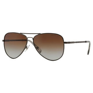 Ralph by Ralph Lauren Women's RA4107 Metal Pilot Polarized Sunglasses