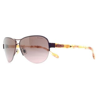 Ralph by Ralph Lauren Women's RA4095 Metal Pilot Sunglasses