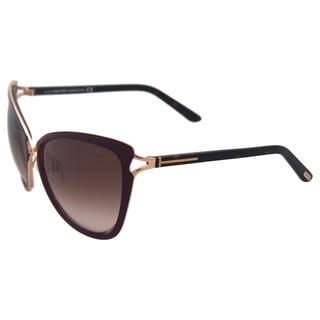 Tom Ford TF 332 Celia 28J - Burgundy/Green