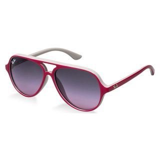 Ray-Ban Junior RJ9049S Pink Plastic Pilot Sunglasses